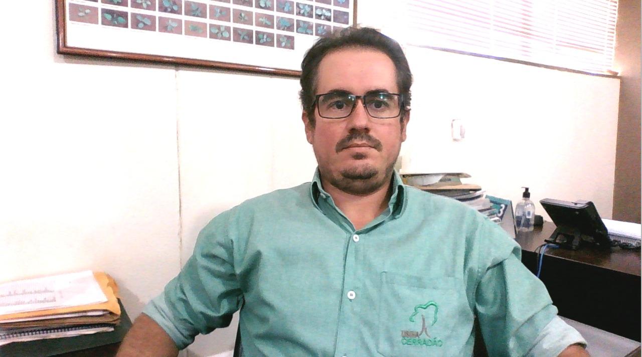 Otávio Queiroz, supervisor de Originação e Agricultura de Precisão da Usina Cerradão